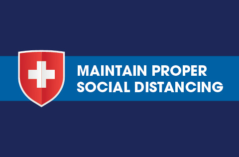 Maintain Proper Social Distancing